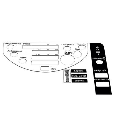 Konica Minolta Bizhub C220/C280/C360 Naklejka panel