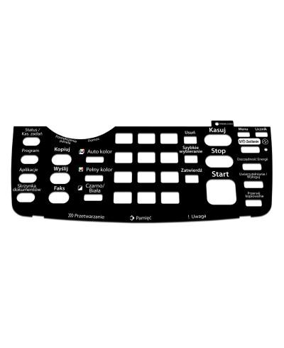 KYOCERA 3050Ci / UTAX 2550Ci Naklejka na panel wkładka
