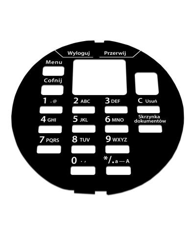KYOCERA FS-4200 Naklejka / wkładka na panel
